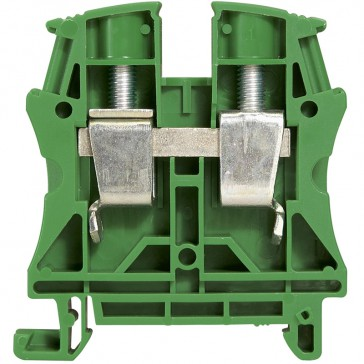 Terminal block Viking 3 - screw - 1 connect - 1 entry/1 outlet - pitch 15-green