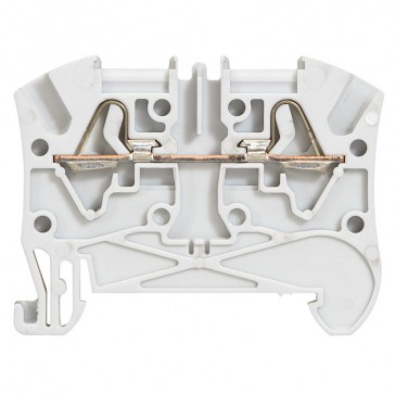 Terminal block Viking 3 - spring - 1 connect - 1 entry/1 outlet - pitch 5 - grey
