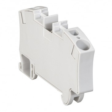 Terminal block Viking 3 - spring - 1 connect - 1 entry/1 outlet - pitch 10 -grey