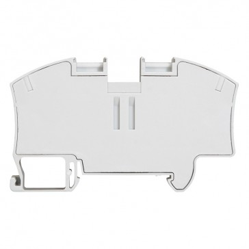 Terminal block Viking 3 - spring - 1 connect - 1 entry/1 outlet - pitch 12 -grey