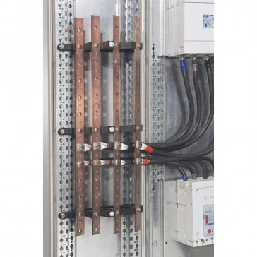 Isolating support for XL³ - 1 bar/pole - up to 400 A - vertical busbars at back
