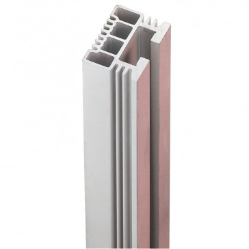 C-section aluminium bar 40x30 mm - length 1780 mm and cross section 524 mm