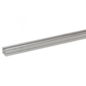 C-section aluminium bar 40x30 mm - length 1780 mm and cross section 824 mm