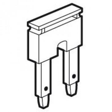 Bridging combs Viking 3 - spring connection blocks - 2 blocks / pitch 10 - blue