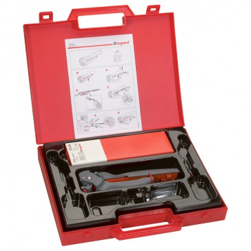 Crimping kit -Starfix tool and ferrules in strips- cross section 0.5 to 2.5 mm²