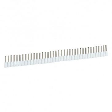 Ferrules in strips Starfix - cross section 0.5 mm² - white