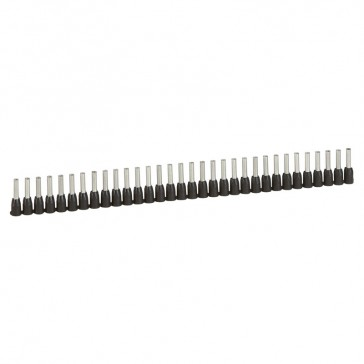 Ferrules in strips Starfix - cross section 1.5 mm² - black
