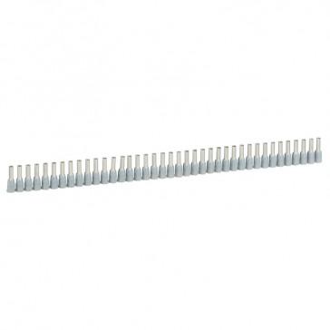 Ferrules in strips Starfix - cross section 2.5 mm² - grey