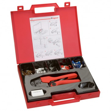 Crimping kit - Starfix tool and individual ferrules - cross section 10 to 50 mm²