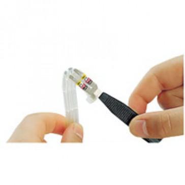 Marker holder Memocab - marking of both ends - L. 30 mm -section 0.75 to 4 mm²
