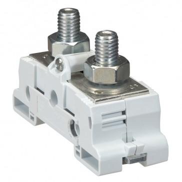 Plate power terminal blocks Viking 3 - for bars/lugs - sym rails - M12 -pitch 34