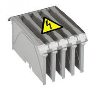 Protective cover Viking 3 - for 3 or 4 power terminal block - pitch 46 or 34