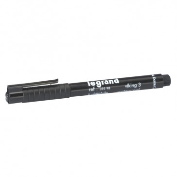 Black felt-tip marker pen - indelebile for marking