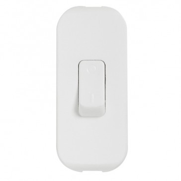 Cord switch - 2P - 2 A 250 V~ - coloured - white