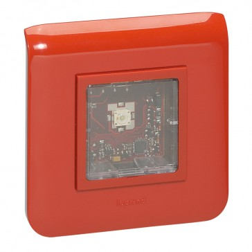 Visual alarm Mosaic device - complete - IP40 / IK04 - 2 modules