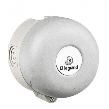 Bell - for industrial and alarm use - IP40 - IK08 230 V~ - Ø100 mm gong