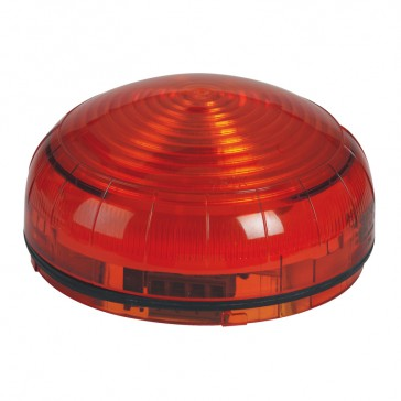 Compact size LED beacon to be equipped with base - 600 Candelas - IP65 IK08 - Orange