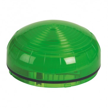 Compact size LED beacon to be equipped with base - 2500 Candelas - IP65 IK08 - Green
