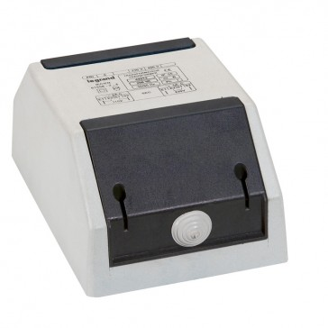 Auto-transformer - single phase - protected - 400/230 V - 0.75 kVA - 2 x 4 mm²