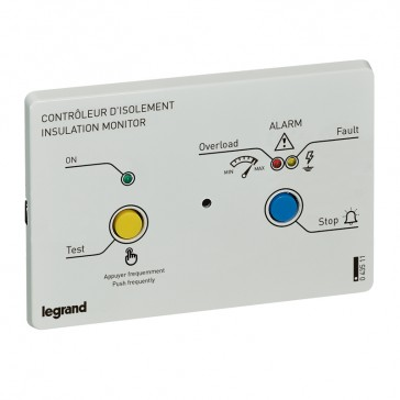 Remote panels for insulation monitoring device (IMD) - for flush-mounted installation - 24 or 230 V~