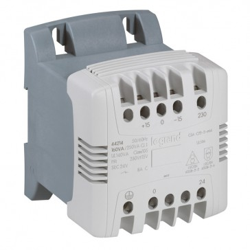 Control and signal. transfo - 1 Ph - prim 460 V sec 115/230 V - 63 VA -screw