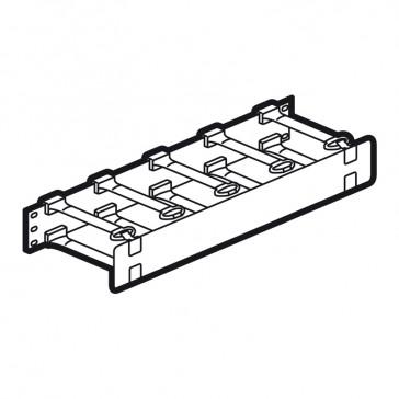 "19"" cord management panel for 19"" rack - 1 U"