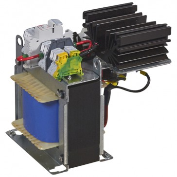 Filtered rectified power supply 1 phase - prim 230-400 V / sec 24 V= - 600 W