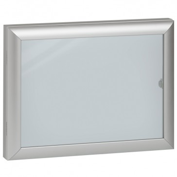 Hinged glass door - for cabinets - IP54 - width 300 x height 400 mm