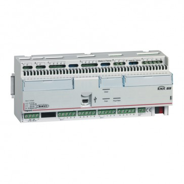 KNX room controller unit Arteor - 16 inputs - 16 outputs - 12 DIN modules