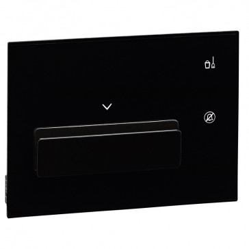 Keycard holder user interface hotel equipment BUS - black