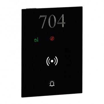 DO NOT DISTURB – MAKE UP ROOM external indicator, bell push-button, badge reader user interface hotel equipment BUS