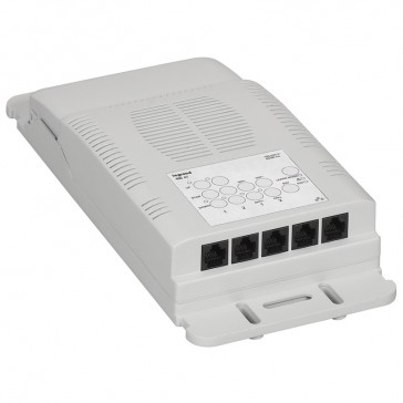 Lighting management-room controller ON/OFF-2 outputs blind/shutter control-16 A