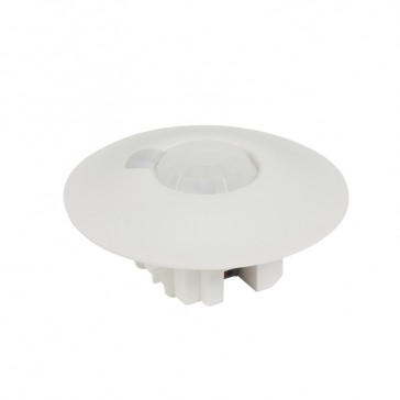 BUS/KNX presence sensor - ceiling mounted -IP20 -360° IR + high density lens -8 m