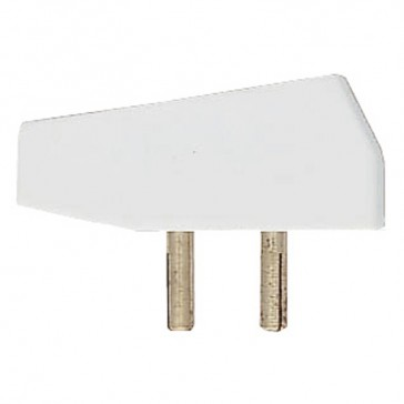Plug - for socket outlet Cat. No 771 50 - 2P - 3 A - ELV 12 mm fixing centres