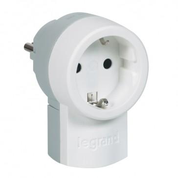 Double function plug - German standard - 2P+E - 16 A socket 250 V~