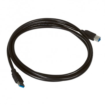 USB 3.0 A male / B male cord - Length 2 m