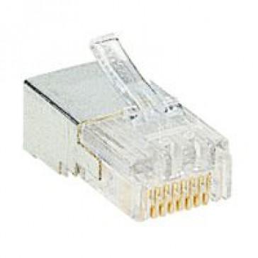 Plug RJ 45 - 8 contacts - width 11.70 mm