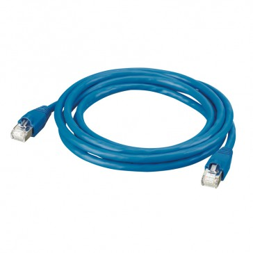 Patch cord/user cord RJ 45 - Cat.6 - SF/UTP shielded - PVC - 1 m