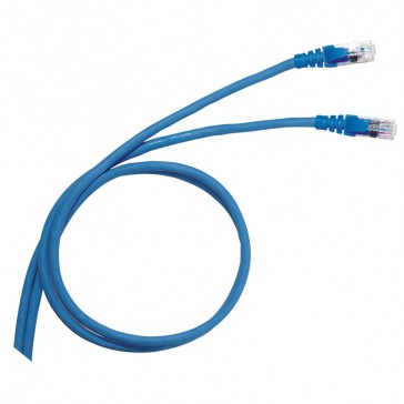 Patch cord/user cord RJ 45 - Cat.6 - F/UTP screened - PVC - 3 m
