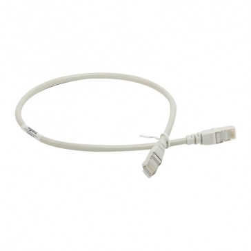 Patch cord/user cord RJ 45 - Cat.5e - F/UTP screened - 0.5 m