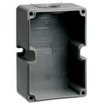 Box Hypra - IP44 - for surface appliance inlets - 63 A - plastic