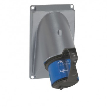 Protection cover P17 - IP66 / IP44 - for 3P+N+E - 16 A / 2P+E and 3P+E - 32 A