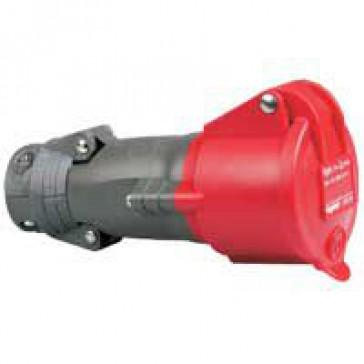 Mobile socket Hypra - IP44 - 380/415 V~ - 16 A - 3P+N+E - plastic