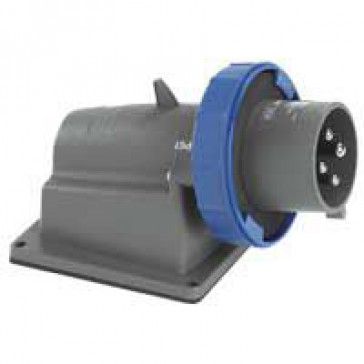 Surface appliance inlet Hypra - IP66/67-55 - 200/250 V~ - 16 A - 2P+E - plastic
