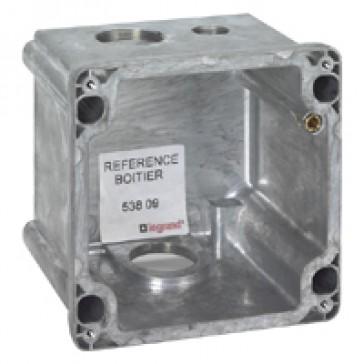 Box Hypra - IP44 - for Prisinter surface sockets 3P+E/3P+N+E - 63 A - metal
