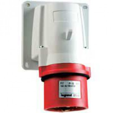 Appliance inlet P17 - IP44 - 380/415 V~ - 16 A - 3P+E