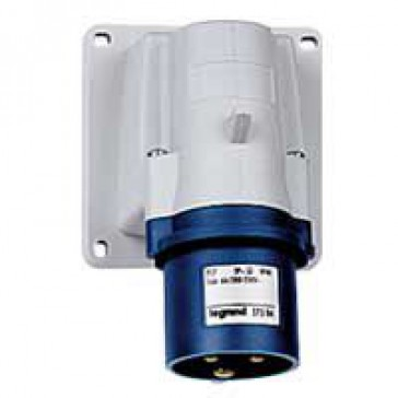 Appliance inlet P17 - IP44 - 200/250 V~ - 32 A - 2P+E