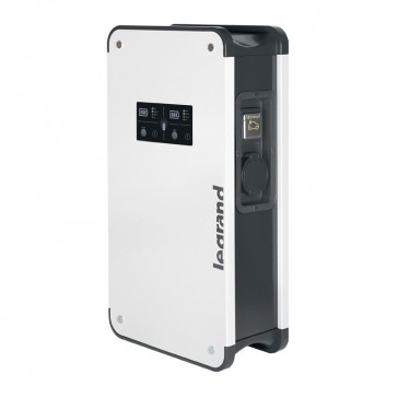 Green'up Premium metal single-phase charging station - IP55 - IK10 - mode 2 and 3 - 3,7/4,6 kW -16/20 A - for 2 vehicles