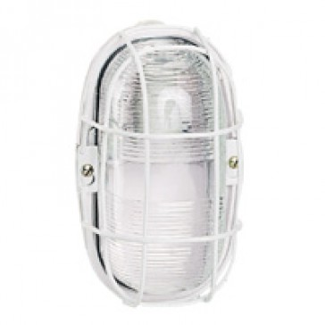 Metal protection grid - for weatherproof bulkhead light 604 77
