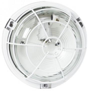 Bulkhead light - IP55 - IK04 - round - 100 W- E27 - though environments